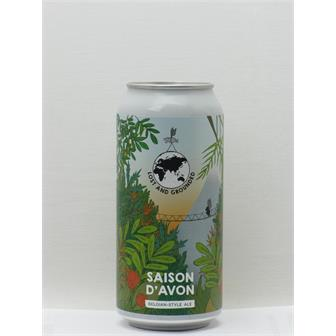 Lost and Grounded Saison D Avon Bristol 440ml CAN thumbnail