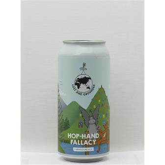 Lost and Grounded Hop-Hand Fallacy Belgian Ale Bristol 440ml CAN thumbnail