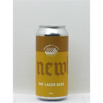 Newbarns Oat Lager Leith 440ml thumbnail
