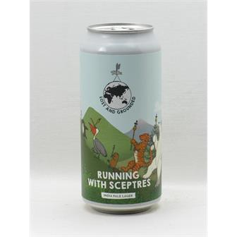 Lost and Grounded Running with Sceptres India Pale Lager Bristol 440ml thumbnail