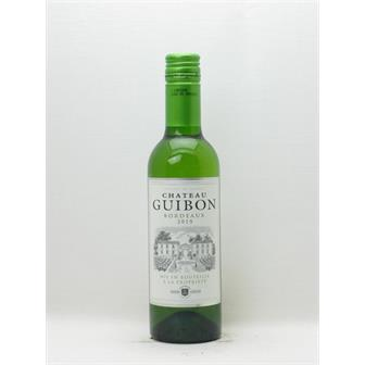 Chateau Guibon Blanc Half Bottle 2019 thumbnail