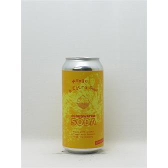 Cloudwater Soda Mango & Citra Hop 0%ABV Manchester 440ml thumbnail