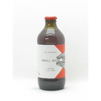 Small Beer Co Steam 2.7% 330ml Bermondsey thumbnail