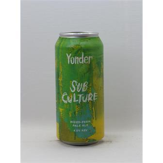 Yonder Subculture Mixed-Ferm Pale Ale 4.5% 440ml Binegar thumbnail