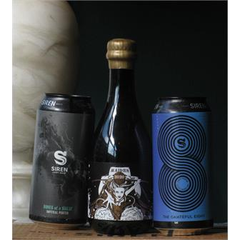 Siren 8th Anniversary Beer Trio thumbnail
