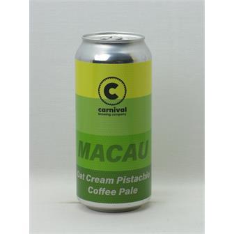 Carnival Macau Oat Cream Pistachio Coffee Pale 5.4% 440ml Liverpool thumbnail