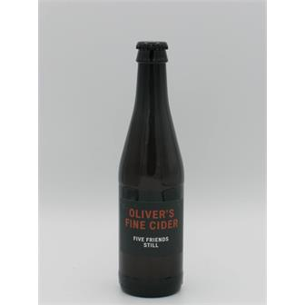 Olivers Five Friends 2018/2019 6.8% 330ml Herefordshire thumbnail