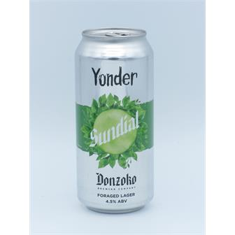 Yonder x Donzoko Sundial Helles with Foraged Nettles 4.5% 440ml Somerset thumbnail