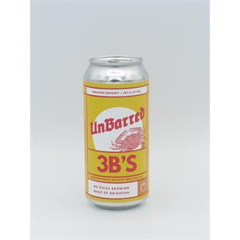 UnBarred 3Bs Belgian-style IPA 6.3% 440ml Brighton thumbnail