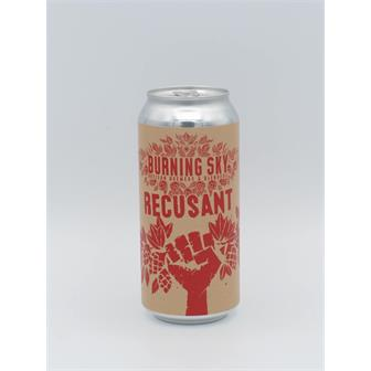 Burning Sky Recusant Belgian-style Wild Ale 6.3% 440ml Sussex thumbnail