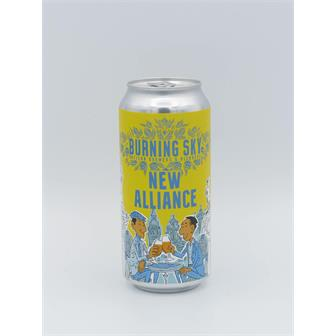 Burning Sky New Alliance Pale Ale 4.5% 440ml Sussex thumbnail
