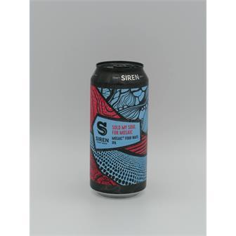 Siren Sold My Soul For Mosaic IPA 7.2% 440ml Finchampstead thumbnail