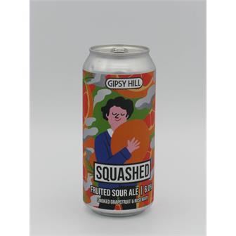 Gipsy Hill Squashed Smoked Grapefruit and Rosemary Sour 6% 440ml Crystal Palace thumbnail