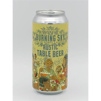 Burning Sky Rustic Table Beer 440ml Sussex thumbnail