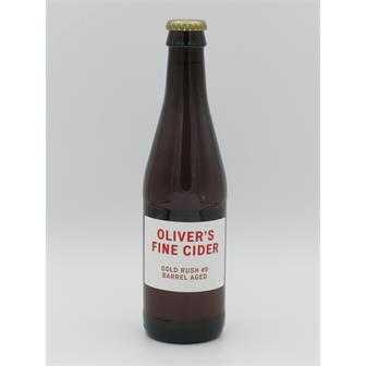 Olivers Gold Rush Barrel-Aged 6.8% 330ml Herefordshire thumbnail