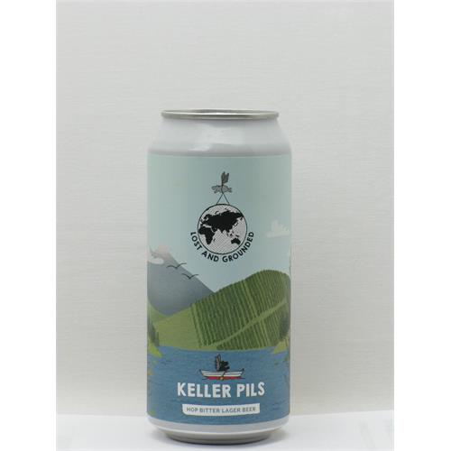 Lost and Grounded Keller Pils Bristol 440ml Thumbnail Image 1