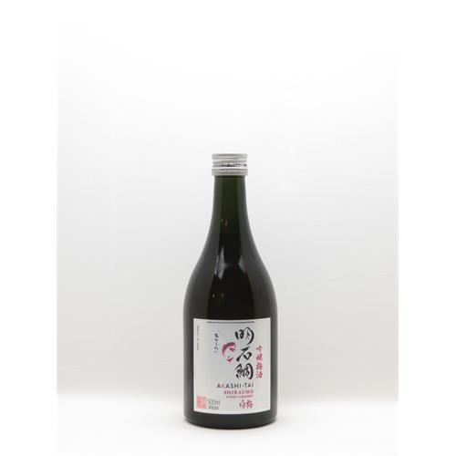 Akashi Tai Shiraume Umeshu Ginjo Plum Sake 500ml Japan Thumbnail Image 1