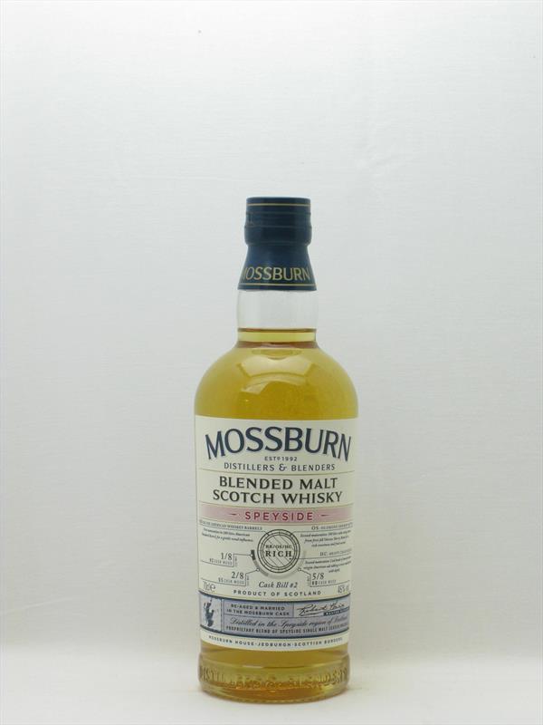 Mossburn Speyside Blended Malt 46% Scotland Image 1