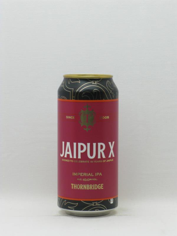 Thornbridge Jaipur X Imperial IPA Bakewell 440ml Image 1