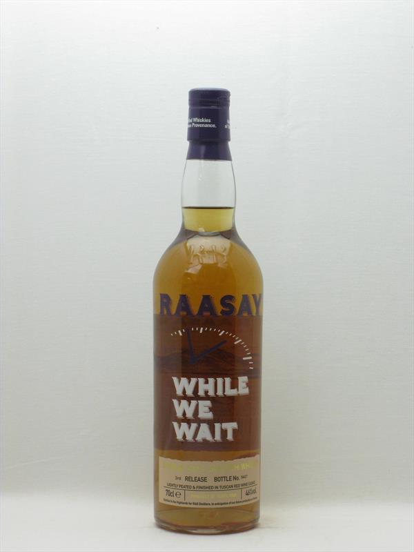 Raasay While We Wait Single Malt 46% Scotland Image 1