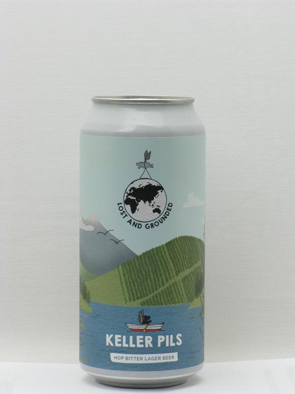 Lost and Grounded Keller Pils Bristol 440ml Image 1