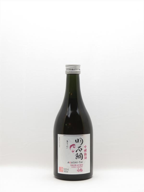 Akashi Tai Shiraume Umeshu Ginjo Plum Sake 500ml Japan Image 1