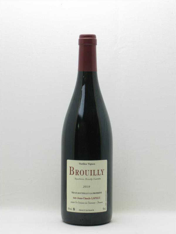 Lapalu Vieilles Vignes 2019 Brouilly Beaujolais Image 1