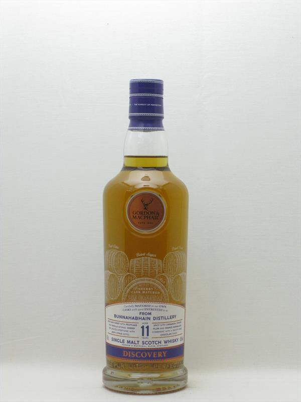 G&M Discovery Bunnahabhain (Sherry) 11 Year Old 43% Scotland Image 1