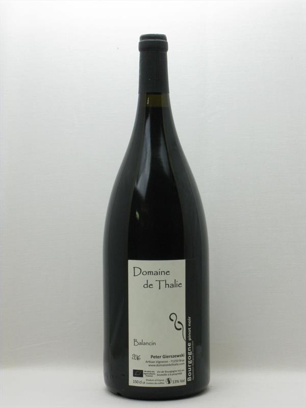 Domaine de Thalie Bourgogne Pinot Noir Balancin Magnum 2016 Macon Bray Image 1