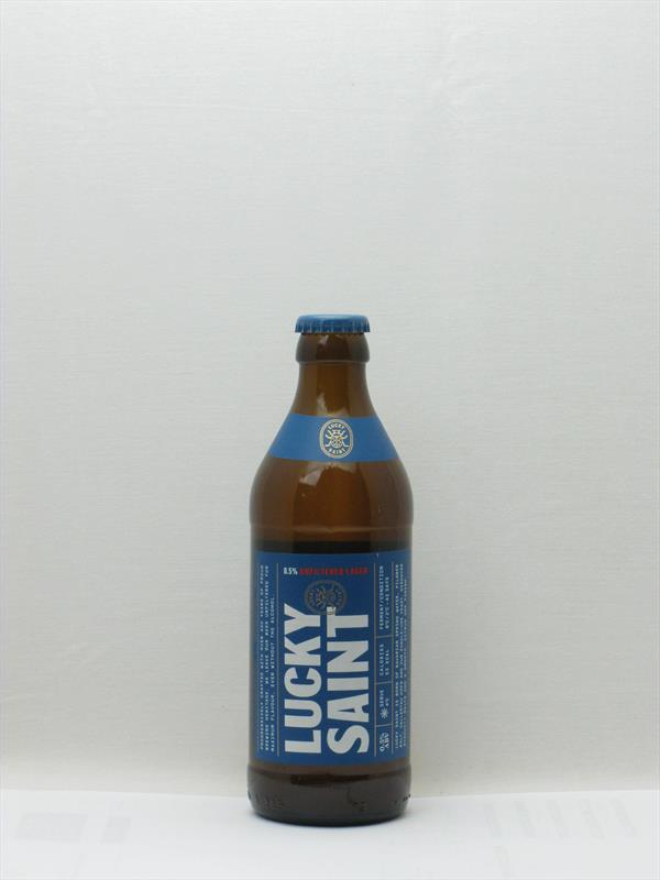 Lucky Saint 0.5% Lager London Image 1