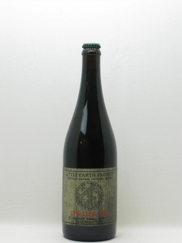 Little Earth Project: Its Life Jim Barleywine 16.5% 750ml Suffolk Image 1