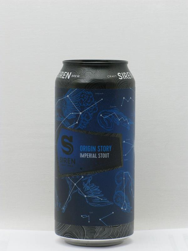 Siren Origin Story Imperial Stout 440ml Image 1
