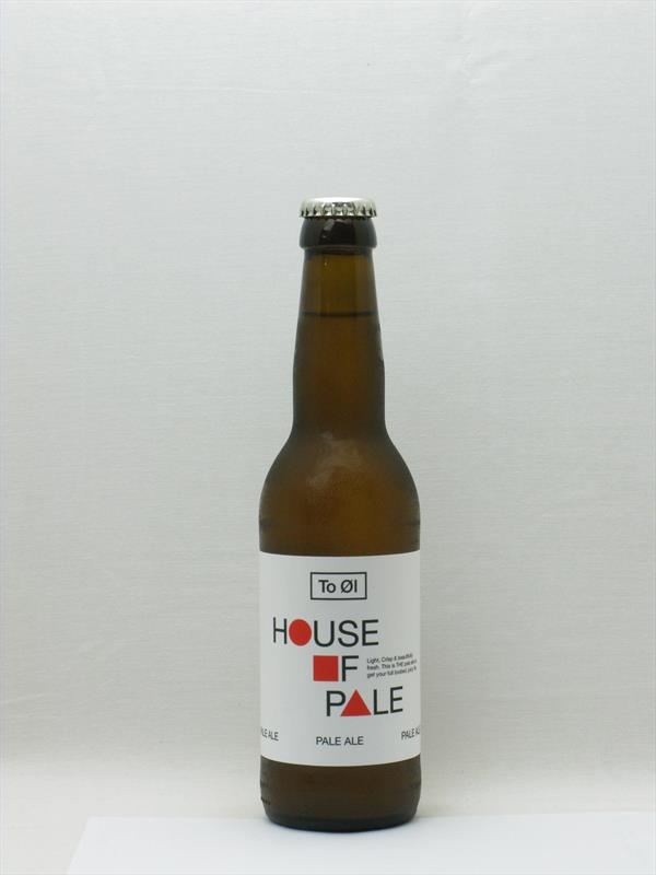 To Ol: House of Pale Pale Ale Denmark 330ml Image 1