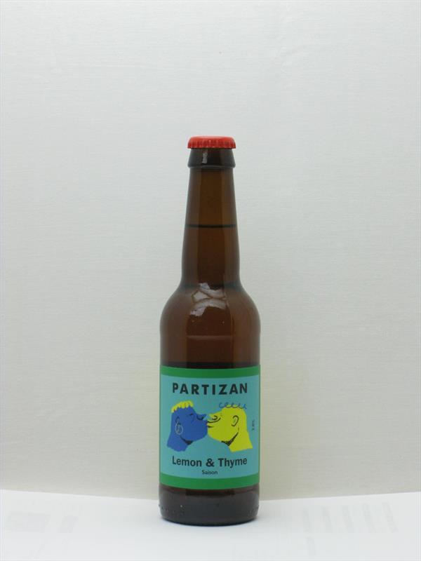 Partizan Saison Lemon & Thyme Bermondsey 330ml Image 1