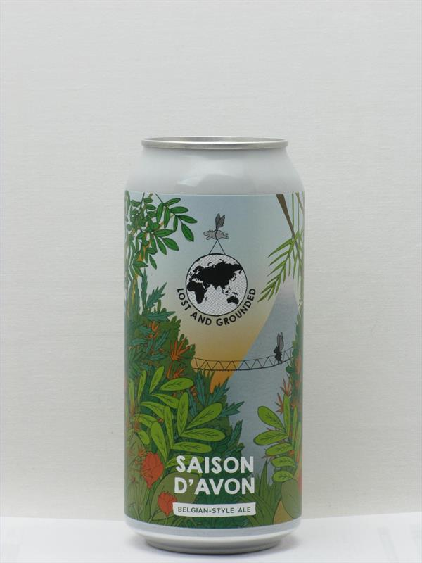 Lost and Grounded Saison D Avon Bristol 440ml CAN Image 1