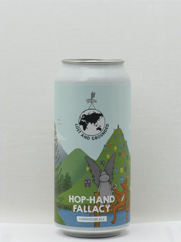 Lost and Grounded Hop-Hand Fallacy Belgian Ale Bristol 440ml CAN Image 1