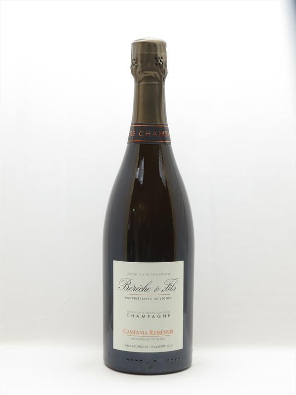 Champagne Bereche Campania Remensis Rose Image 1
