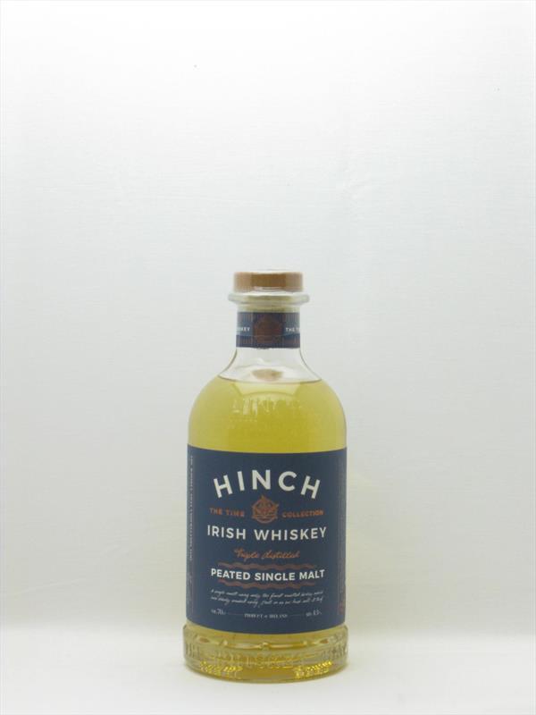 Hinch Peated Whiskey 43% Ireland Image 1
