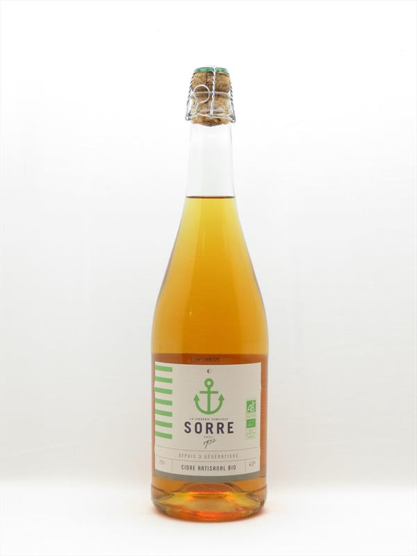 Cidre Sorre Bio Brut Mariniere Brittany Image 1