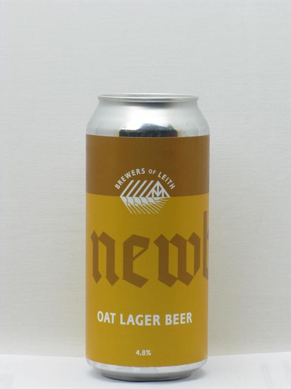 Newbarns Oat Lager Leith 440ml Image 1