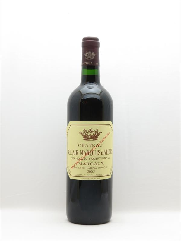 Chateau Bel Air Marquis d Aligre 2005 Margaux Image 1