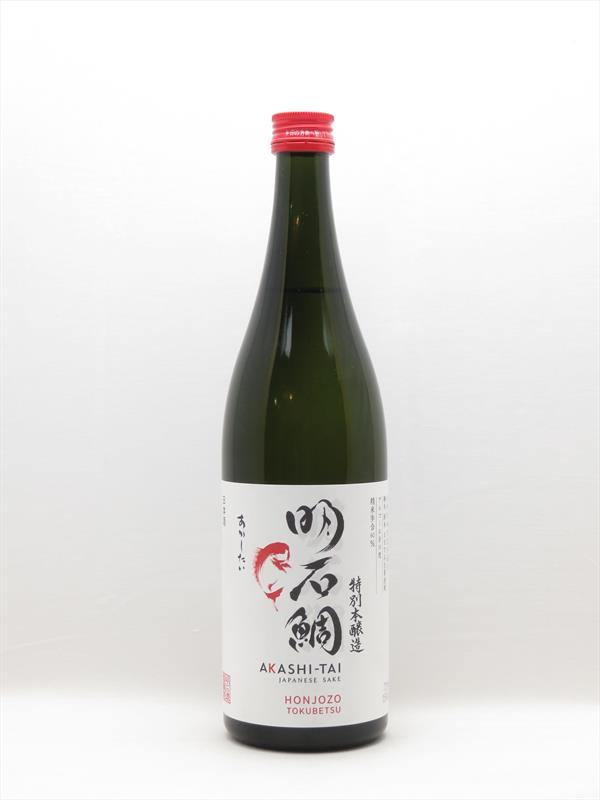 Akashi Tai Honjozo Tokubetsu Sake 720ml Japan Image 1