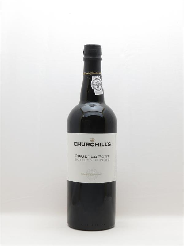 Churchills Crusted Port Bottled 2006 Douro Image 1