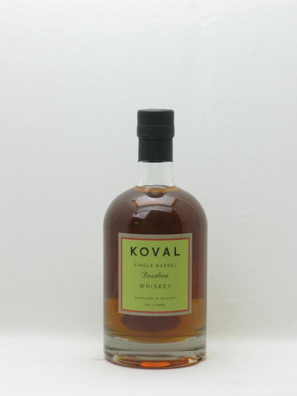 Koval Single Barrel Bourbon 47% Illinois USA Image 1