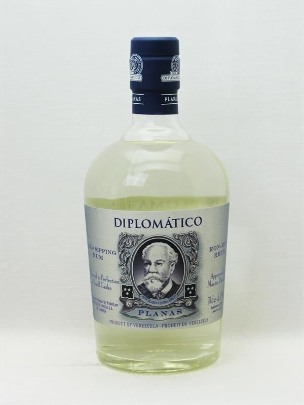 Diplomatic Planas Rum Blanco 47% Venezuela Image 1