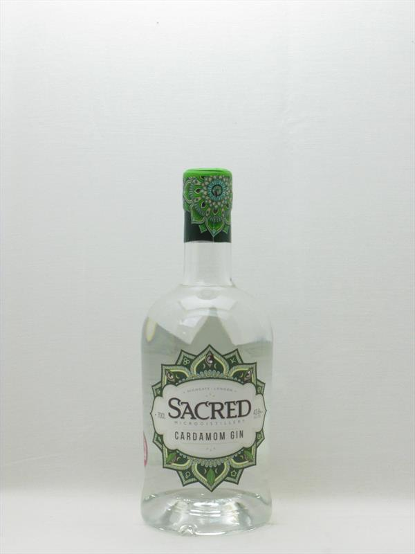 Sacred Cardamom Gin 43.8% UK Image 1
