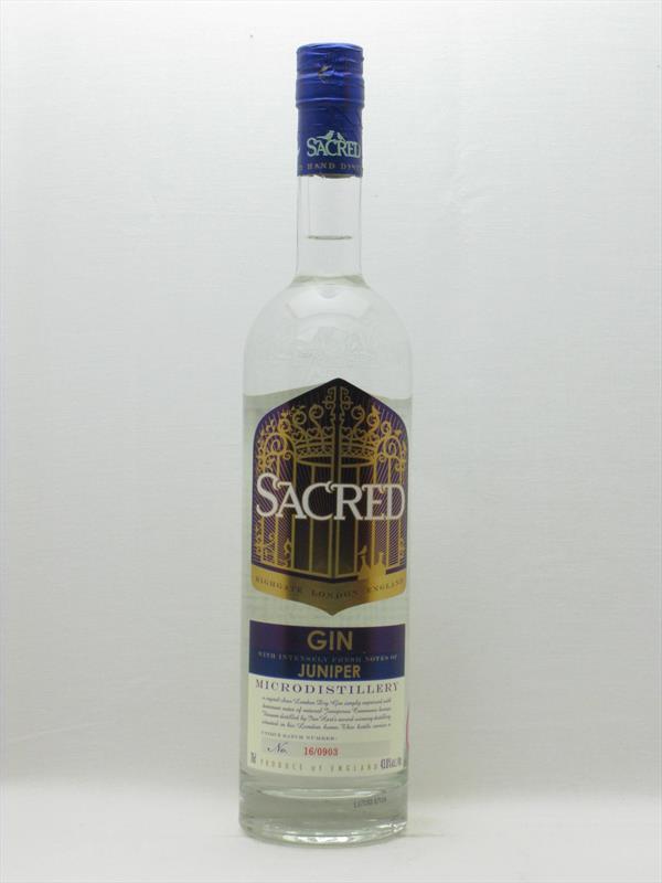 Sacred Juniper Gin 43.8% UK Image 1