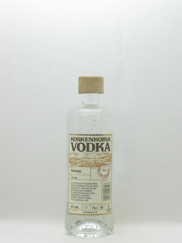 Koskenkorva Vodka 40% Finland Image 1