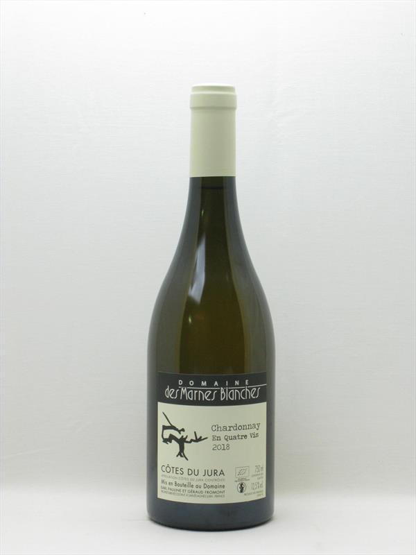 Marnes Blanches Chardonnay En 4 Vis 2018 Jura Image 1