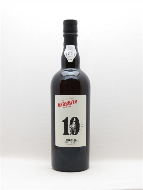 Barbeito Sercial 10 Year Reserva Velha Madeira Image 1